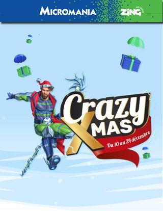 Catalogue Micromania Zing en cours, Crazy XMAS , Page 1