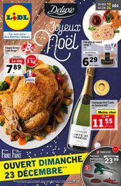 Catalogue Lidl en cours, Joyeux Noël , Page 1