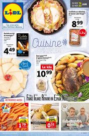 Catalogue Lidl en cours, Cuisine d'hiver, Page 1