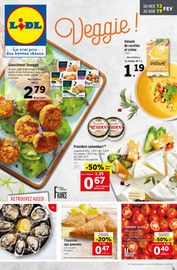 Catalogue Lidl en cours, Veggie !, Page 1