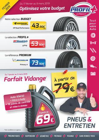 Catalogue Profil Plus en cours, Optimisez votre budget, Page 1