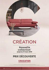 Catalogue Crozatier en cours, Création, Page 1