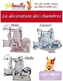 Catalogue Badbouille en cours, La décoration des chambres, Page 1