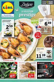 Catalogue Lidl en cours, Deluxe La sélection prestige, Page 1