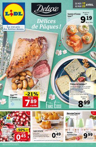 Catalogue Lidl en cours, Délices de Pâques ! , Page 1