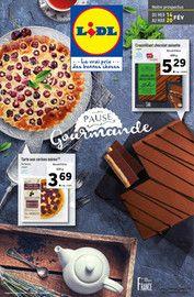 Catalogue Lidl en cours, Pause gourmande , Page 1
