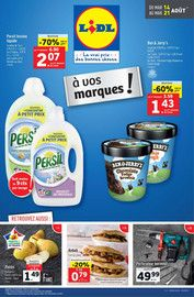 Catalogue Lidl en cours, À vos marques !, Page 1