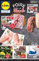 Catalogue Lidl en cours, Foire à la viande, Page 1
