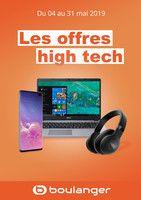 Catalogue Boulanger en cours, Les offres high tech, Page 1