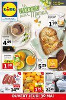 Catalogue Lidl en cours, Un Brunch pour maman, Page 1