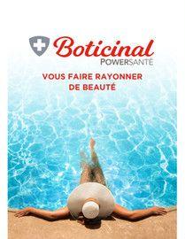 Catalogue Boticinal en cours, Boticinal Powersanté, vous faire rayonner de beauté, Page 1