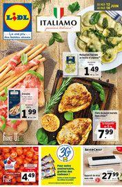 Catalogue Lidl en cours, Italiamo, Page 1