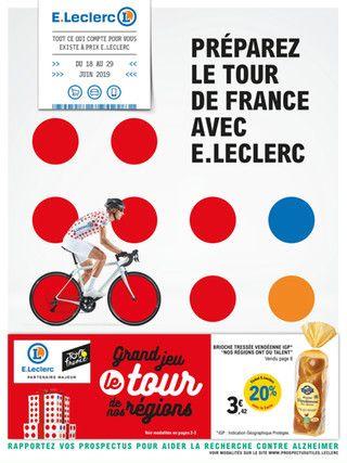 Catalogue E.Leclerc en cours, Préparez le tour de France avec E.Leclerc, Page 1