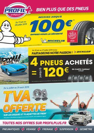Catalogue Profil Plus en cours, Bien plus que des pneus, Page 1