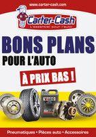 Catalogue Carter-Cash en cours, Bons plans pour l'auto à prix bas !, Page 1