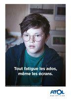 Catalogue Atol Les Opticiens en cours, Tout fatigue les ados, même les écrans., Page 1
