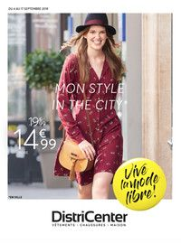 Catalogue DistriCenter en cours, Mon Style in the City, Page 1