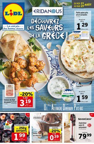 Catalogue Lidl en cours, Découvrez les saveurs de la Grèce !, Page 1