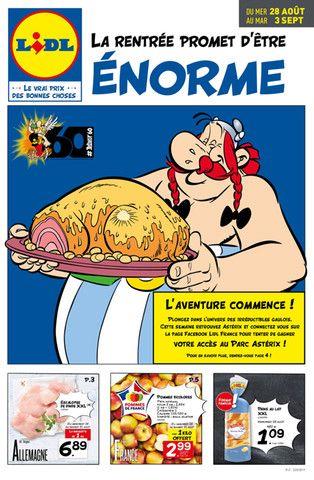 Catalogue Lidl en cours, La rentrée promet d'être énorme, Page 1