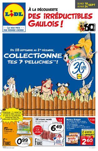 Catalogue Lidl en cours, À la découverte des irréductibles Gaulois !, Page 1