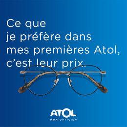 Catalogue Atol Les Opticiens en cours, Ce que je préfère dans mes premières Atol, c'est leur prix., Page 1