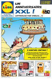 Catalogue Lidl en cours, Un anniversaire XXL !, Page 1