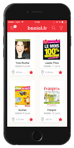 Application gratuite - Bonial pour iPhone