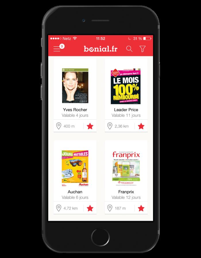 Bonial - application gratuite pour iPhone et iPod Touch